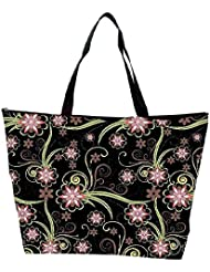 Snoogg Abstract Pattern Background Waterproof Bag Made Of High Strength Nylon