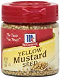 McCormick Yellow Mustard Seed, 1.4-Ounce Unit (Pack of 6)