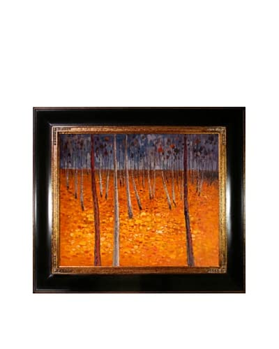Gustav Klimt Beech Forest I Framed Oil Painting