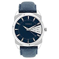 Laurels Analog Blue Dial Men's Watch - Lo-Inc-203