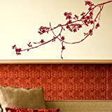 Tree Branch - Removable Wall Decal / Large Art Transfer / Vinyl Graphic Ne20