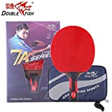 Double Fish Ayous Wood Blade Table Tennis Racket 7 Star 7A-C, Ping Pong Paddle, Table Tennis Racquet - Shakehand