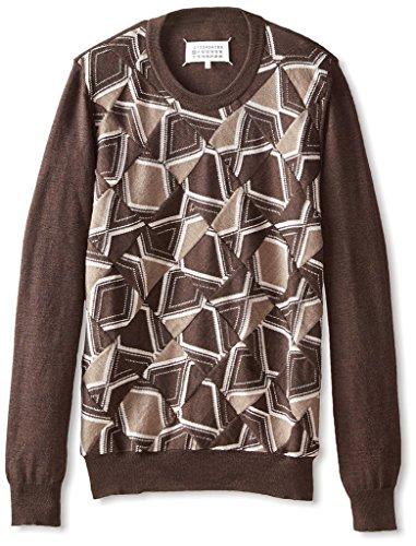 maison-martin-margiela-mens-abstract-argyle-sweater-brown-nut-l