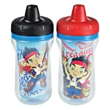 Disney 9 Ounce Jake and the Never Land Pirates Insulated Sippy Cups 2Pack