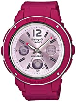 Casio Baby-g Bga150-4bdr Big Face Monotone Design Analog-digital Watch White Limited Edition
