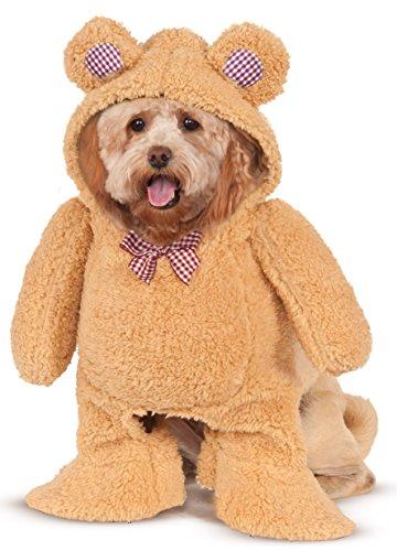 Walking Teddy Bear Pet Suit, Medium (Teddy Bear Costumes compare prices)