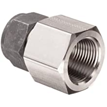 Parker CPI 12-12 GBZ-SS 316 Stainless Steel Compression Tube Fitting, Adapter, Tube OD x NPT Female