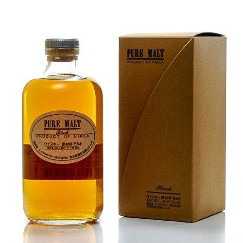 nikka-pure-malt-whisky-black-label-japonais-bouteille-de-50cl
