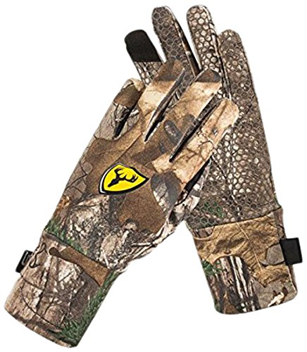 ScentBlocker Trinity Glove with Smart Touch, Mossy Oak Break Up Infinity, Medium/Large