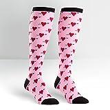 Sock It To Me Hearts Knee High Socks
