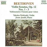Sonates pour violon & piano op.12, Nos.1 à 3