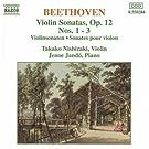 Sonates pour violon & piano op.12, Nos.1 � 3