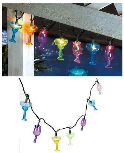MARGARITA Party Light Set Outdoor Pool Summer LUAU NEW