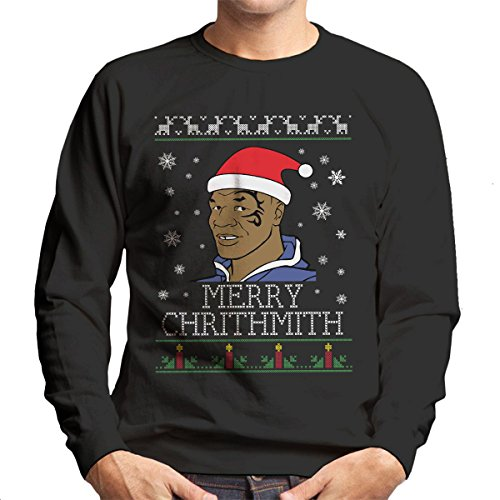 mike-tyson-merry-chithmith-chritmas-mens-sweatshirt
