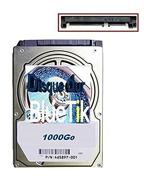 BLUETIK - Disque dur interne 1To pour PS3 / PS4 / PS3 Slim / PS3 Ultra Slim / MacBook Pro (pour les versions slim, super slim et ultra-slim, un support de montage non fourni est nécessaire)