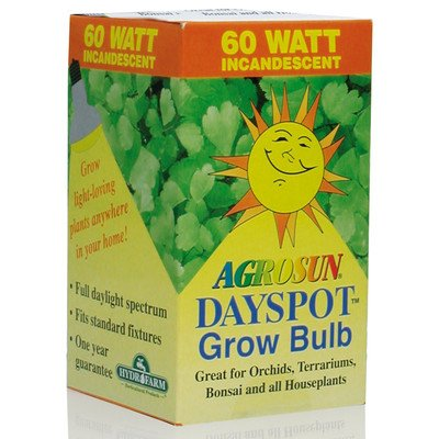Agrosun Agrosun Dayspot Incandescent Bulb Grow Light - 60W