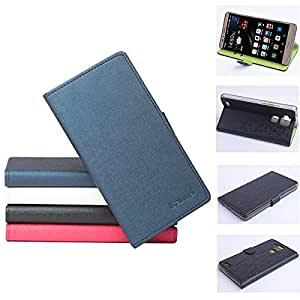 Hit Color Flip PU Leather Protective Case For Huawei Mate 7**