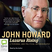 Lazarus Rising Audiobook by John Howard Narrated by John Howard