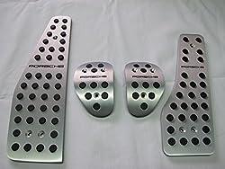 See Porsche 991 987 986 996 Manual Aluminum Pedals Pads Covers Details