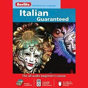 Berlitz Italian Guaranteed Audiobook