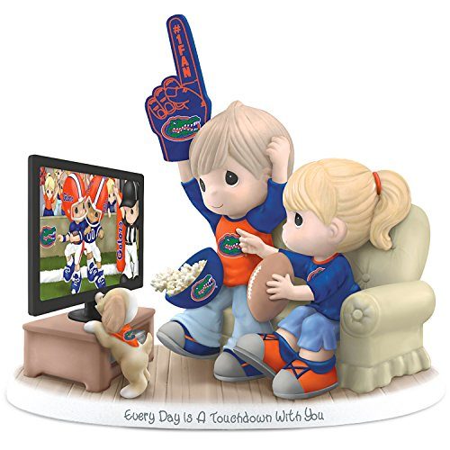 Precious Moments Every Day Is A Touchdown With You Florida Gators Figurine by The Hamilton Collection
