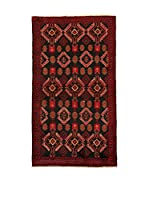 Kilim Carpets by Jalal Alfombra Belucistan Mashad (Rojo/Negro)