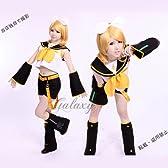 VOCALOID 鏡音リン 風 コスプレ衣装 cc0357 (女性Mサイズ)