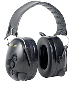 Peltor TacticalPRO Electronic Hearing Protector, Folding Headband, 26 NRR by Peltor