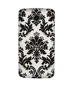 Black Abstract Motorola Nexus 6 Case