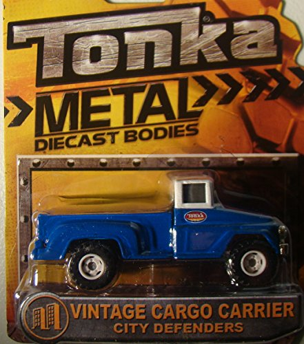 Tonka Metal Diecast Bodies Vintage Cargo Carrier - City Defenders