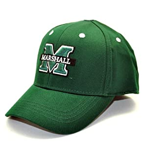 Buy Marshall Thundering Herd Child One-Fit Hat, Hunter Green by Top of the World