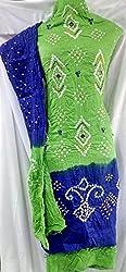 Shubh Women's Dress Material (5302CWGRBL_Greena Blue_Free Size)