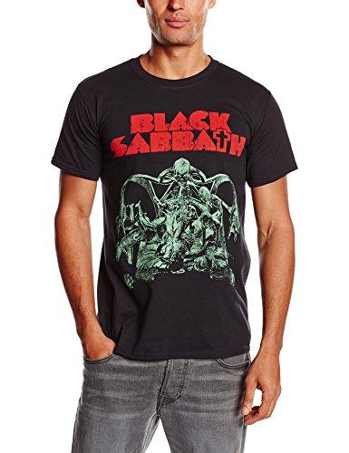 Black Sabbath Men's Bloody Sabbath Cutout Short