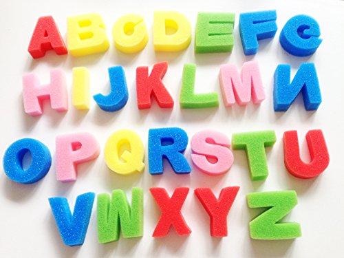 Rimobul Artist Studio Alphabet Sponges Model - 26 Count (Capital Letter)