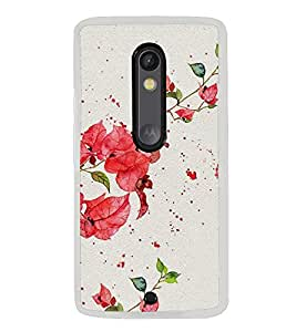 Beautiful Flowers 2D Hard Polycarbonate Designer Back Case Cover for Motorola Moto X Style :: Moto X Pure Edition