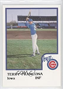 Terry Francona (Baseball Card) 1986 Iowa Cubs ProCards #11 by Iowa Cubs ProCards