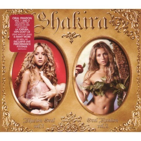 Shakira - Oral Fixation Volumes 1 & 2 (2 CDs + DVD) - Zortam Music