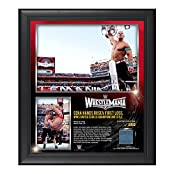 John Cena WrestleMania 31 15 x 17 Framed Ring Canvas Photo Collage