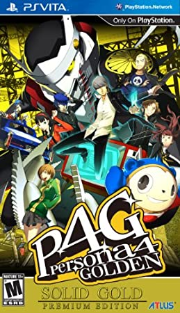 Persona 4 Golden: Solid Gold Premium Edition (PlayStation Vita)