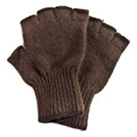 Buffalo Gold Fiber Fingerless Gloves