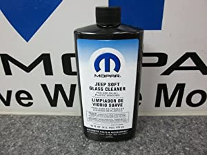 Jeep Wrangler Soft Top Glass Window Cleaner Mopar 16 Oz from MOPAR
