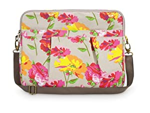 All For Color Pretty Posies Laptop Sleeve - Large