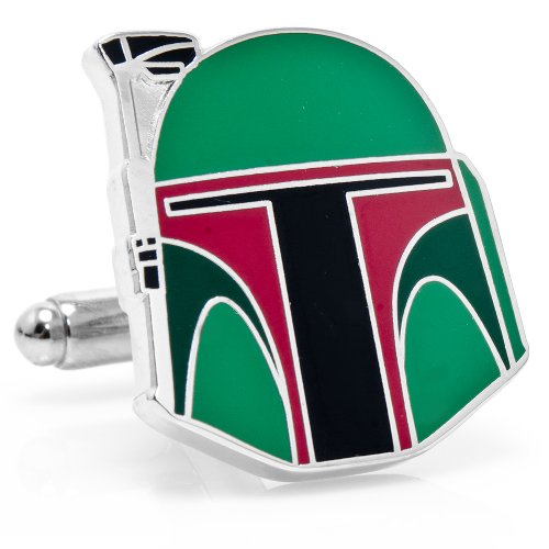 Star Wars Boba Fett Helmet Cufflinks Cuff Links