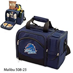 Boise State Broncos Malibu Insulated Picnic Shoulder Pack/Bag - Navy w/Digital Print