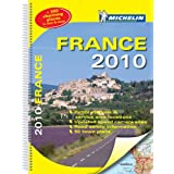 France 2010 - atlas (A3-Spiral) (Michelin Tourist and Motoring Atlases)by Michelin
