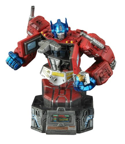 Transformers Exclusive Final Battle Optimus Prime with Matrix of Leadership Bust by Diamond - Buy Transformers Exclusive Final Battle Optimus Prime with Matrix of Leadership Bust by Diamond - Purchase Transformers Exclusive Final Battle Optimus Prime with Matrix of Leadership Bust by Diamond (Transformers, Toys & Games,Categories,Action Figures,Statues Maquettes & Busts)