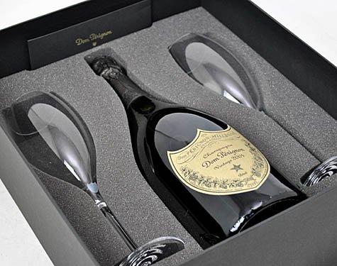 ドンペリニヨン 2006 白 フリュートグラス2脚セット 750ml 正規品 ギフト箱付