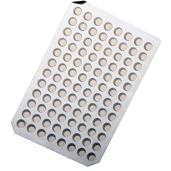 Corning Thermowell 6555 Silicone Rubber 96 Well Thermowell Sealing Mat (Case of 25)