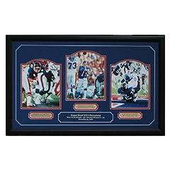New York Giants Super Bowl XXI Champion triple 8x10 by GFSF