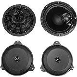 """J&M Audio ROKKER XX 6.65"""" Front Spe"""